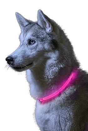 Eines der hellsten und am meisten sichtbaren Hundehalsbänder auf dem Markt, ausgestattet mit den neuesten Auraglow-LEDs für hohe Sichtbarkeit in einer Entfernung von 1500 Fuß. Eigenschaften schließen ein: völlig Wetter beständiges Design, Zuschneidef...