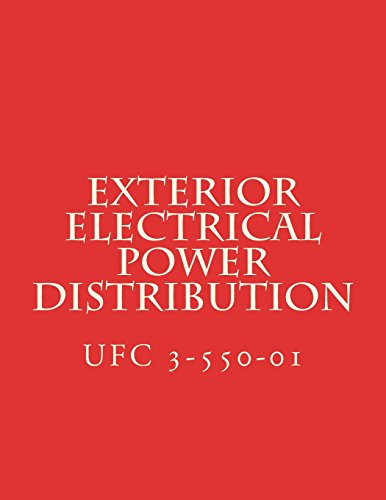 Price comparison product image Exterior Electrical Power Distribution: Unified Facility Criteria UFC 3-550-01