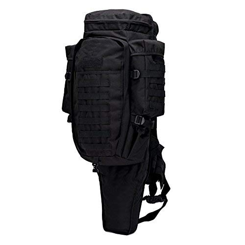 GEARDO Tactical Military Hunting Survival Fishing Airsoft Gear Gun Rifle Backpack Case Black