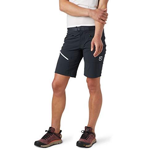 ORTOVOX Damen Brenta Shorts W Kurze Hose, Schwarz (Black Raven), XL