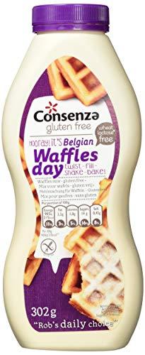 """Consenza """"Shake und Bake"""" Flasche Waffelmix Glutenfrei (1 x 302 g)"""