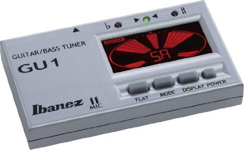 Ibanez GU1-SL Guitar & Bass Tuner silber