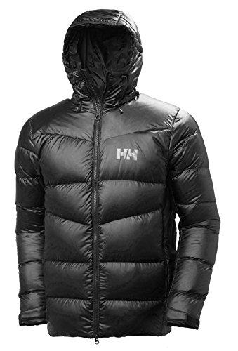 Helly Hansen Vanir Icefall Down Chaqueta Suave y cálida de plumón de Ganso Europeo, Prenda de Invierno para Hombre, Negro, M