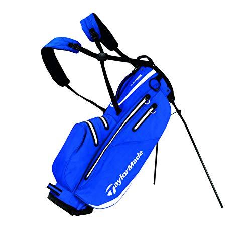 TaylorMade Flextech Waterproof, Borsa con Supporto, per Golf Uomo, Royal, Taglia Unica