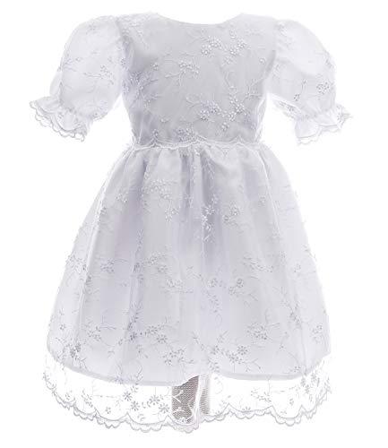 Babybekleidung Baby-Mädchen Prinzessin Kleid Festzug Taufkleid Fee 68