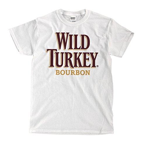 WILD TURKEY Logo - White Shirt (2XL)