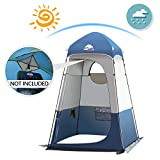 Qdreclod Outdoor Privacy Tent Portable Shower Tent Dressing Fishing Bathing Storage Room 160 * 160 * 240CM,...