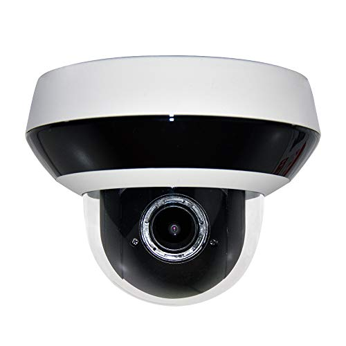 4MP PTZ Outdoor POE Dome Network IP Camera OEM Hikvision DS-2DE2A404IW-DE3, Smart H.265+, 120dB WDR, 256G SD Card Slot,up to 20m IR Day and Night Version