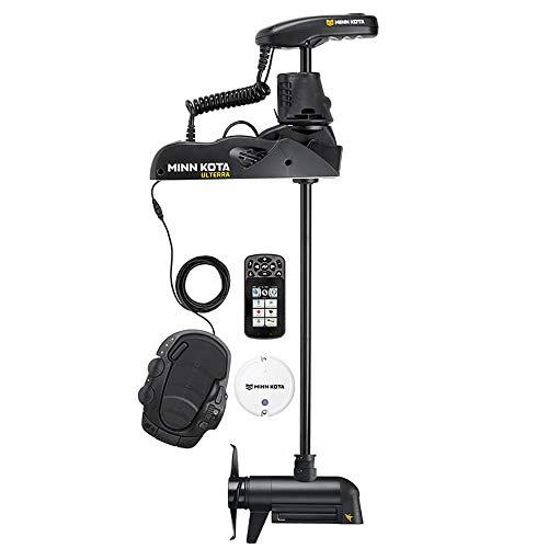 "Price comparison product image Minn Kota 1358985 Ulterra Trolling Motor - 24V,  80 lbs. 45"" Shaft with MEGA Imaging and i-Pilot Link GPS"