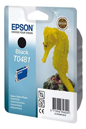 Epson T0481 Tintenpatrone Seepferd, Singlepack Schwarz