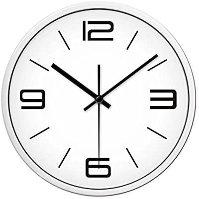 Znzbzt Simple Creative Mute Wall Clock Personalized Modern Art Wall Clock Living Room Modern Minimalist Mute