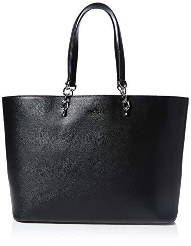 HUGO Damen Victoria Shopper Tote, Schwarz (Black), 15x29x44 cm