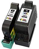 TONER EXPERTE Remplacement pour HP 45 HP 78 2 Cartouches d'encre compatibles avec HP...