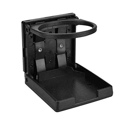 happygirr Soporte para bebidas para coche, ABS, universal, plegable, para la rejilla de ventilación, para café, 75 mm de diámetro