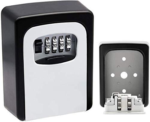 Schlüsselsafe Schlüsseltresor Tresor mit Zahlenschloss außen Tresor Zahlenschloss kaufen Kleiner Tresor mit Schlüssel Schlüsselkasten mit Zahlenschloss Sicherheits-Schlüsselkasten für Wandmontage