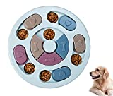 Dog Puzzle Toys,Dog Puzzles,Puppy Puzzle Game Toy,Dog Puzzles for Smart Dogs,Dog Interactive Feeder Bowl,Dog Slow Feeder Puzzle Toy for Pet Dogs Puppy Cats Prevent Boredom and Upset