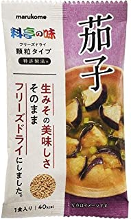 FD顆粒みそ汁 料亭の味茄子 12.9g