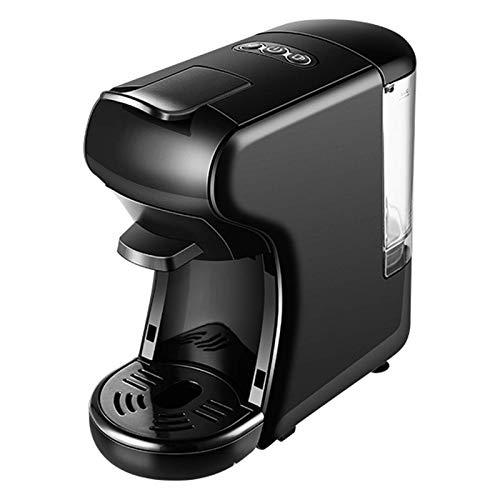 Ekspres do kawy Półautomatyczny ekspres do kawy Home Office Ekspres do kawy w kapsułkach Mały Espresso Cappuccino Ekspres do kawy Metalowy przenośny 15bar Ekspres do kawy (kolor: czarny) chen
