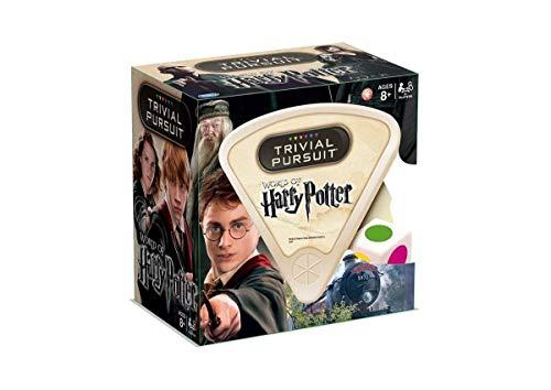 Trivial Pursuit 21289 - Juego de Preguntas de Harry Potter en Ingles para 2 o más Jugadores (versión en inglés)
