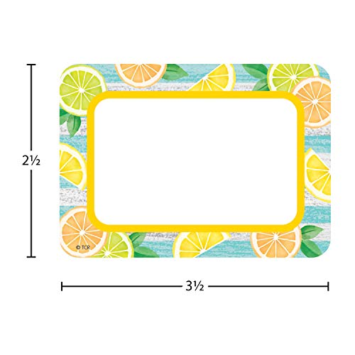 Teacher Created Resources Lemon Zest Name Tags/Labels - Multi-Pack (TCR8483) Photo #2
