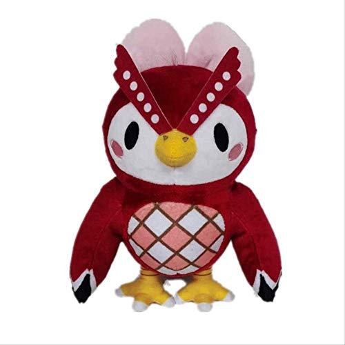 qwerbz 21cm Animal Crossing Plüschtier Verschenken Amiibo Card Cartoon Celeste Plüschkissen Kindergeschenke Spielzeug