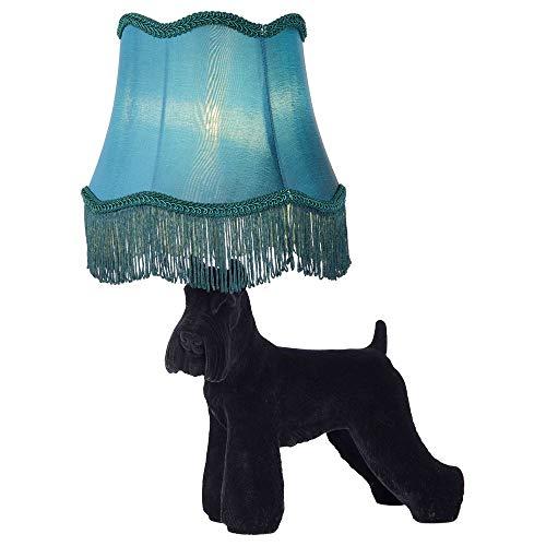 Dekorative Außergewöhnlich Tischlampe, Tisch-leuchte & Nachttischlampe E14 Wohnzimmer Schlafzimmer Schwarz Blau Kunststoff Stoff