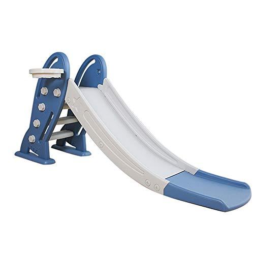 ZXY Tobogán al Aire Libre, toboganes para niños, tobogán Infantil de Juguete para niños, tobogán de Seguridad para niños pequeños,Azul