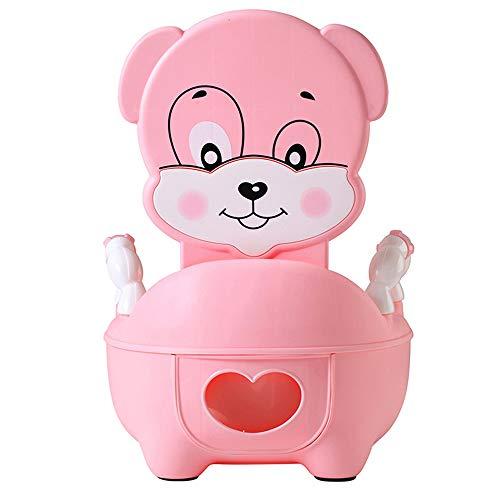QIANGUANG® Riduttori Toilette WC per bambini Sedile Bambino piccolo Allenatore Vasino Sedile del water (Rosa)