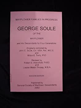 Paperback George Soule of the Mayflower and His Descendants for Four Generations Book