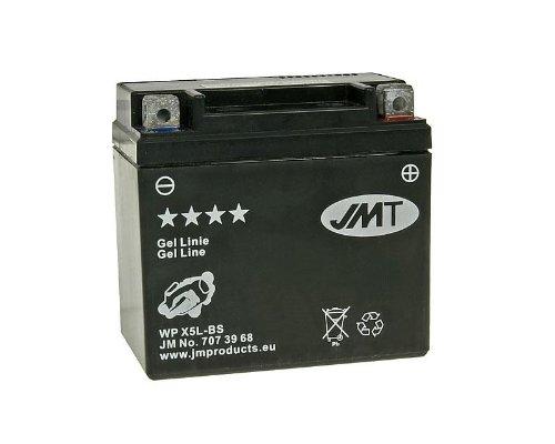 Batterie JMT Gel JMTX5L-BS für Aprilia SR 50 LC Ditech Street Bj. 2005 - inkl. 7,50 EUR Batteriepfand