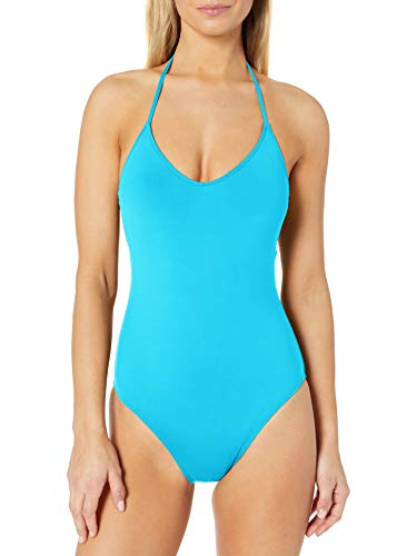 La Blanca Women's Standard Island Goddess Scoop Front Lingerie Mio One Piece Swimsuit, Poolside, 12