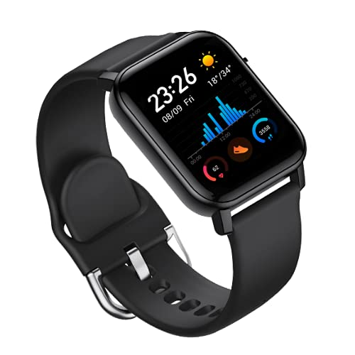 Rhobos (5 Years Warranty) T1 Smartwatch Series 2 Smart Watch Bluetooth Smartwatch Compatible with All Mobile Phones for Boys and Girls with Direct Calling Functions