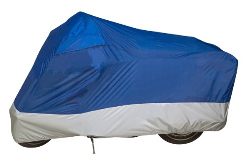 Dowco Guardian 26034-01 UltraLite Water Resistant Indoor/Outdoor Motorcycle Cover: Blue, Large