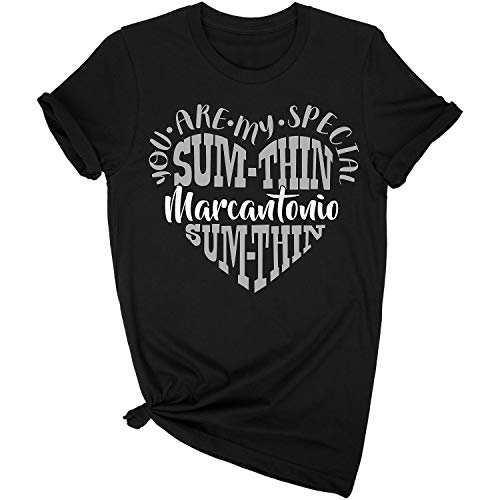 Always Awesome Apparel Relationship You're My Special Sum Thin Marcantonio Funny T-Shirt Size Large Black