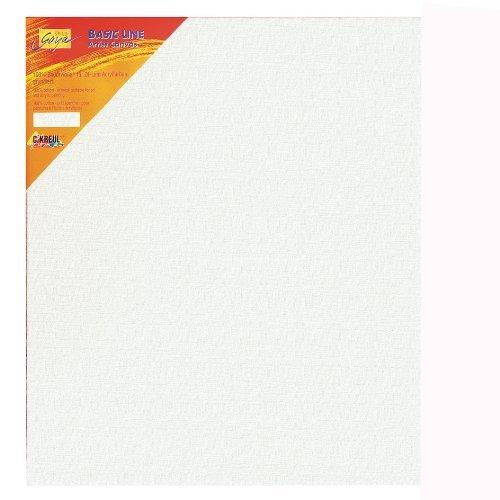 Kreul 63040 - Solo Goya Stretched Canvas Basic Line, Keilrahmen 30 x 40 cm, mit Leinwand aus Baumwolle 4 fach grundiert, ideal für Öl, Acryl-und Gouachefarben