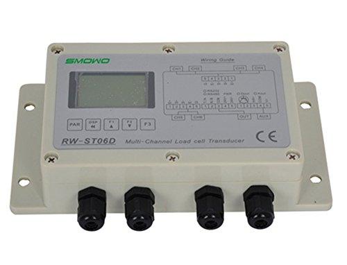 CGOLDENWALL RW-ST06D Mehrkanal-Digital-Wägezellen-Sensor Verstärker Transmitter Transducer RS232 / RS485