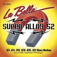 【国内正規品】La Bella ラベラ エレキギター弦 Super Alloy 52 Blues Medium (11-52)