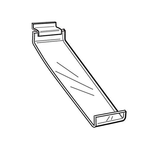 Our shop OFFers the best service 2 New Slatwall Clear Acrylic Shoe Shelves Wide 3