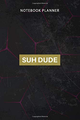 Notebook Planner Suh Dude Box Logo: To Do, 114 Pages, Financial, Work List, To Do, Personal, 6x9 inch, Finance