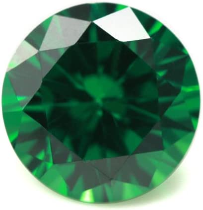 Alone New York Mall Moon Loose Ruby Sapphire Synthetic online shop Gemstones Round Emerald