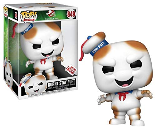 """Pop Movies: Ghost Busters - 10"""" Burnt Stay Puft"""