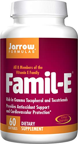 Jarrow Formulas Famil-E, Supports Cardiovascular Health, 60 Softgels
