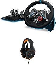 Logitech G29 Volante da Corsa Driving Force, (PS4/ PS3/ PC) +  G231 Cuffie da Gioco Prodigy Stereo con Microfono per PC, X...