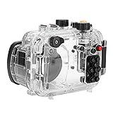 Wosune Bolsa Impermeable para cámara, cámara submarina Gopro con Carcasa subacuática, para buceador Canon Cámaras Cámaras Fotógrafo Submarino