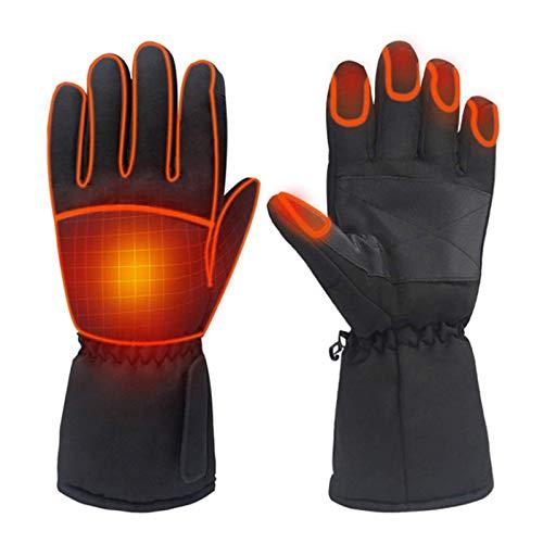 Guantes térmicos para mujeres y hombres, 1 par de guantes impermeables con pantalla táctil de invierno para deportes al aire libre, camping, senderismo, esquí, patinaje en bicicleta