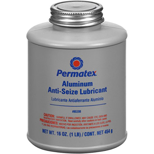 Permatex Anti-Seize Lubricant with Brush Top Bottle, 16 oz. $10.66 at Amazon