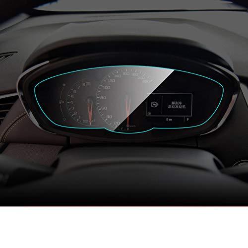 SBCX Protecteur d'écran de Tableau de Bord de Voiture, pour Chevrolet, écran de Membrane de Tableau de Bord intérieur Film de Protection TPU Accessoires Auto