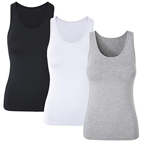 Dames Tank Top Basic T-shirt mouwloos Sport Yoga Pilate Fitness