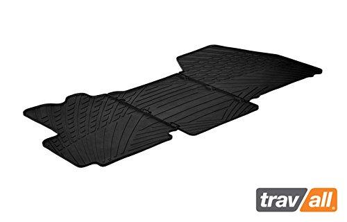 Travall Mats Tapis de Voiture Compatible avec Fiat Ducato (2006-2016) Peugeot Boxer (2006 et Ulterieur) Citroen Relay (2014 et Ulterieur) TRM1188 - Tapis de Sol en Caoutchouc sur Measure