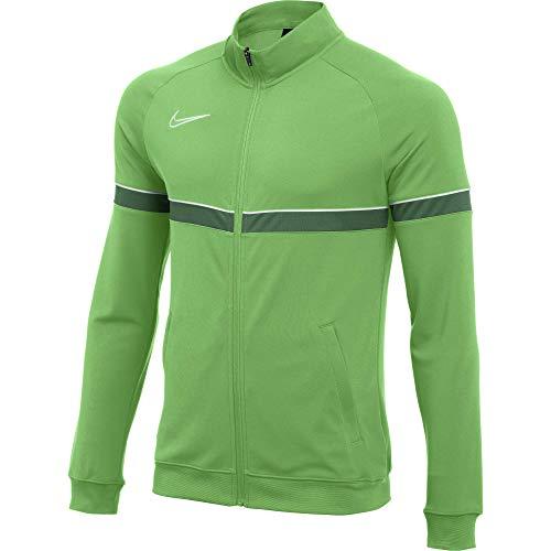 NIKE Dri-FIT Academy 21 Chaqueta Deportiva, Lt Green Spark/White/Pine Green/White, XL para Hombre